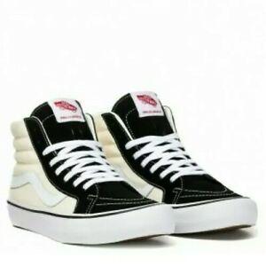 Vans-DX-87-Sk8-hi-Pro-Shoes-uk10-5-Black-amp-White-New