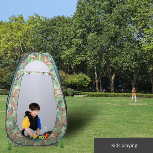Pop Up Instant Portable Shower Tent Camping Outdoor Privacy Toilet Changing Room