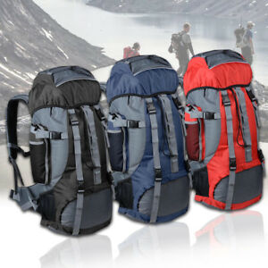 Outdoor Travel Sport Hiking Camping Backpack 70L Rucksack Shoulder Bag Luggage