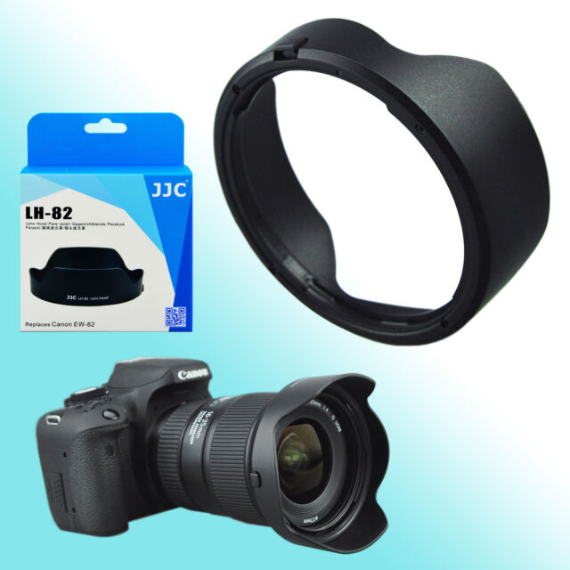 EW-82 Lens Hood Tulip Shade for Canon EF 16-35mm f/4L IS USM 77mm Filter Thread