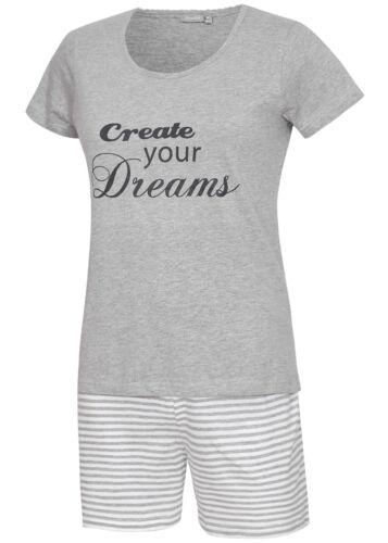 Damen Schlafanzug kurz Damen Shorty Pyjama kurz KB Socken®