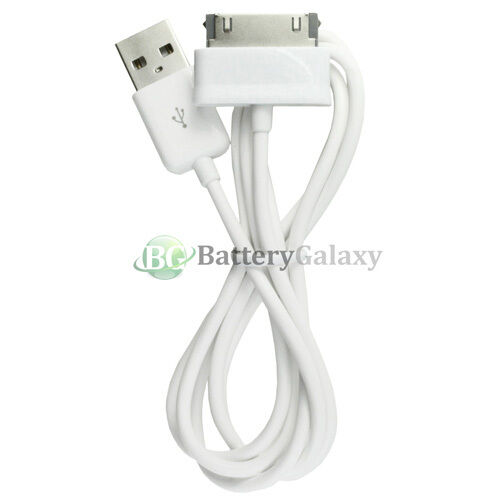 "20 25 50 100 Lot USB Charger Cable for Samsung Galaxy Tab 7.7/"" 8.9/"" 10.1/"" NEW"