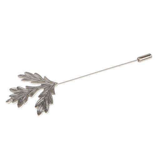 Maple Leaf Brosche Pin Herren Anzug Shirt Hochzeit Corsage Revers Stick Pin
