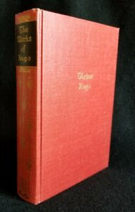 The Works of VICTOR HUGO in One Volume Hard Cover Book 1927 Walter J Black