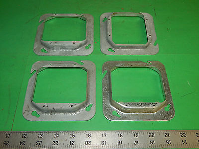 """2 per lot COOPER CROUSE-HINDS TP584-4-11//16 MUD RINGS 1//2/"""" 2 DEVICE square box"""