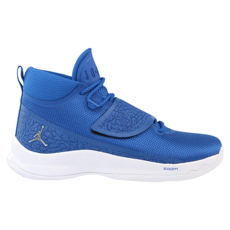 Nike Jordan Super.Fly 5 PO Schuhe Basketballschuhe Turnschuhe 881571 406 Blau