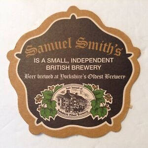 Beer-Coaster-Mat-SAMUEL-SMITH-039-S-Independent-Brewery-ENGLAND