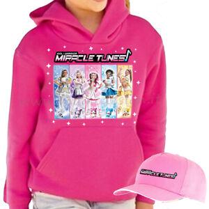 Felpa-Miracle-tunes-serie-tv-Julie-Jasmine-Sophia-Emily-hooded-sweatshirt-kid
