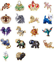 Charming Costume Animal Flower Butterfly Brooch Pin Rhinestone Party Jewelry
