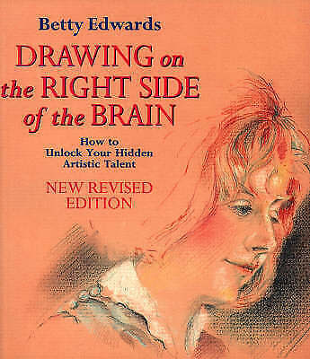 Drawing on the Right Side of the Brain, Acceptable, Betty Edwards, Book