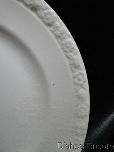 """s 5 7//8/"""" Crazing Embossed Flower Band: Bread Plate Wedgwood Hedge Rose"""
