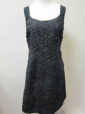 EILEEN FISHER Polished Flannel V-Neck Cami with shirring Tank CHOCOLATE NWT $118