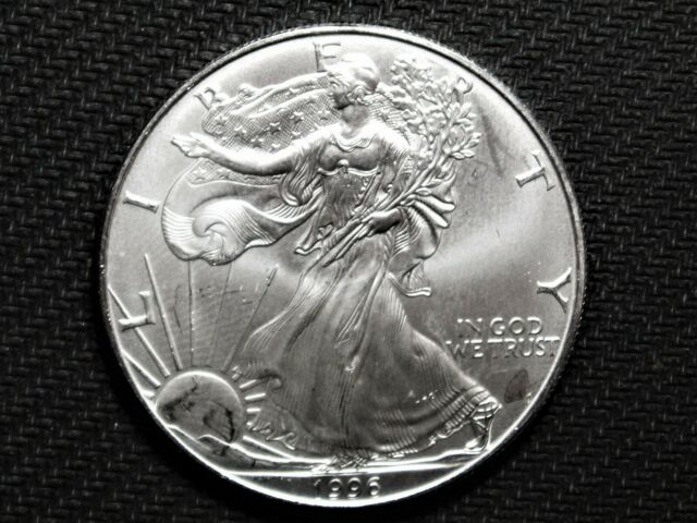 1996 Silver American Eagle Brilliantly Uncirculated Key Date
