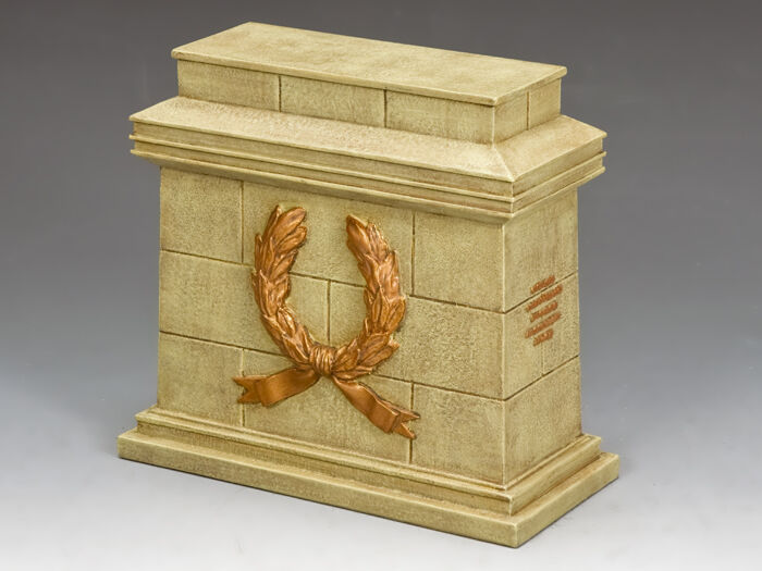 SP079 Large Equestrian Statue Plinth (Sandstone) by King & Country