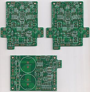 100Wx2-Ovation-nx-Current-Feedback-Amplifier-PCB-set-new-version-2-0