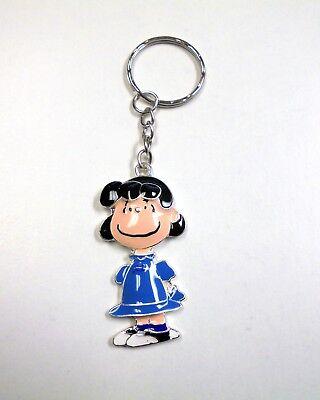 Charlie Brown Snoopy Peanuts Key Chain Enamel Metal Woodstock Comic