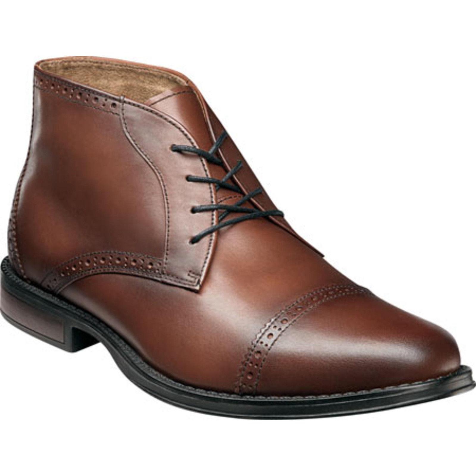 Nunn Bush Men's Robinson Chestnut Leather Chukka Boot 84626-205