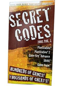 Secret Codes 2005 by BradyGames Staff (2004, Paperback) Classic Legend of Zelda