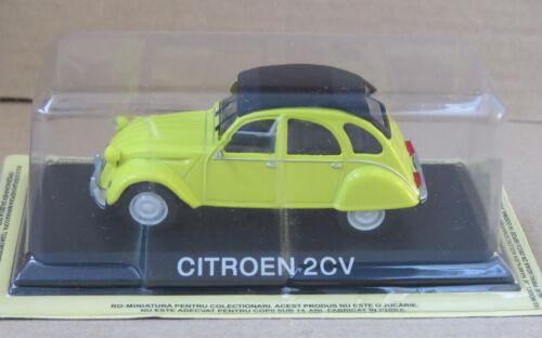 IST LEGENDARY CAR //BA4 CITROEN 2CV 1:43  AUTO DIECAST IXO