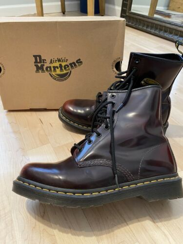 Doc Martens Cherry Red Rouge Boots