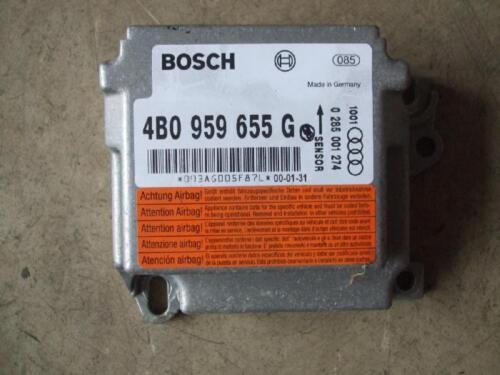 Airbag volant périphérique audi a6 s6 4b Dispositif de commande airbag 4b0959655g