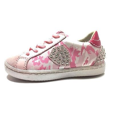 84402c9275 scarpe sportive Balducci Sneakers Bambina vera Pelle rosa primavera ...