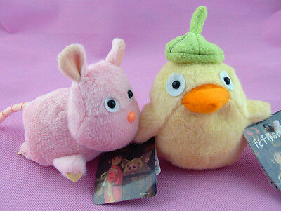 Ghibli Spirited Away Mouse Bird Cute Plush Toy Kids Gift 2pcs Of Set New Ebay