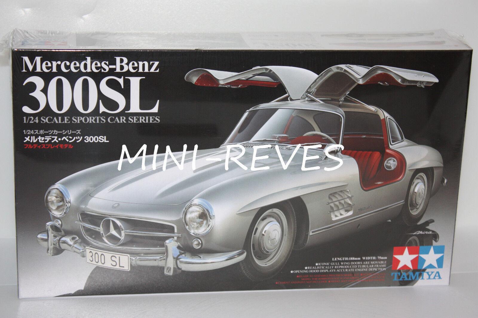 orden ahora con gran descuento y entrega gratuita Tamiya Mercedes Benz 300Sl 1 24 24 24 24338  ¡envío gratis!