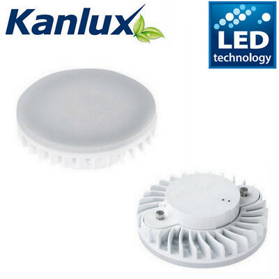 7w Gx53 240v Circular Cfl To Led Light Bulb In Warm Or Cool White Energy Saving Goedkope Verkoop 50%