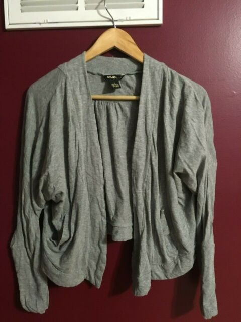 Lot of 2 Women's O'Neil and Olive & Oak size Small Gray Sweater Top
