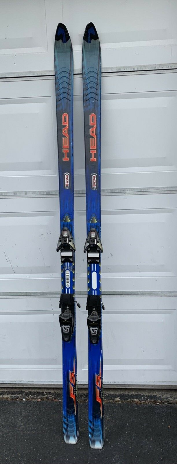Head Carbon Titanal All Terrain F5 190 cm Skis