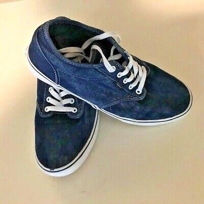 blue jean vans low top