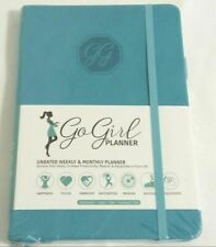 Gogirl Planner Undated Weekly Amp Monthly Planner Newsealed Turquoise