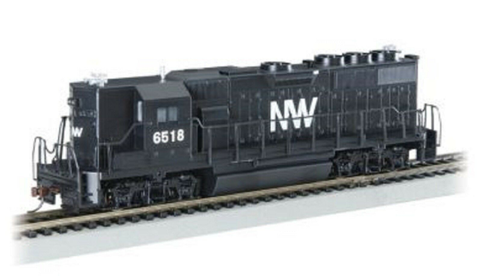 61206 Locomotive Diesel GP50 Norfolk & Western DC BACHMANN Train HO 1 87
