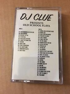 Details about DJ CLUE? Old School Flava RARE NYC Early 90s Hip Hop Cassette  Mixtape Rap Tape