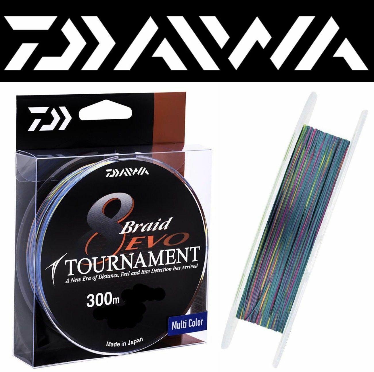 DAIWA Tournament 8 TRECCIA Evo Intrecciato Linea multiColoreee300m