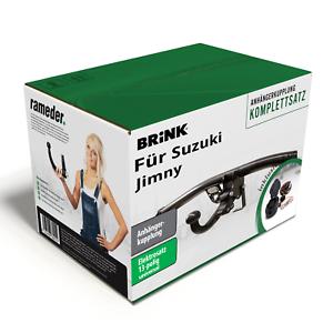 Brink-Anhaengerkupplung-abnehmbar-amp-13poliger-AC-E-Satz-fuer-Suzuki-Jimny-18-AHK