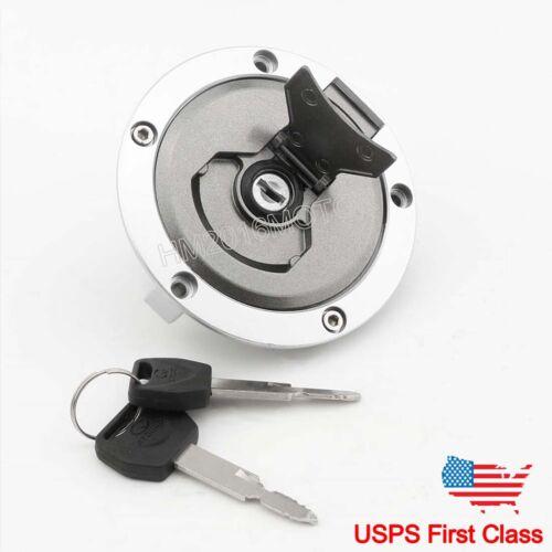 For Honda CB650F CBR1000S 2015-2018 Fuel Gas Tank Cap Cover Lock Keys US Stock