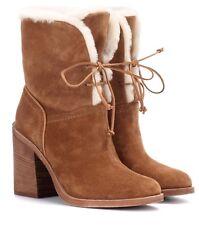 52ee0767b2a UGG Jerene Chestnut Brown BOOTS Size 9 Block Heel Ankle for sale ...