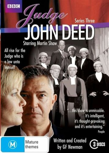 1 of 1 - Judge John Deed Series : Season 3 : NEW DVD
