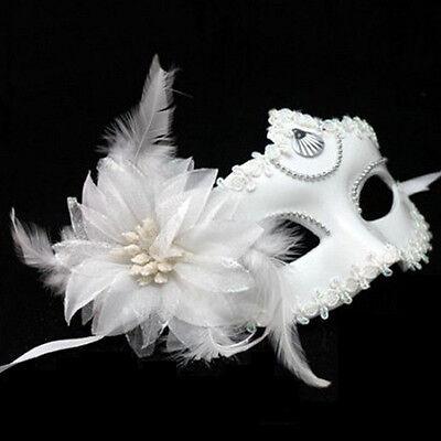 New Flower Feather Venetian Masquerade Ball Halloween Carnival Party Eye Mask