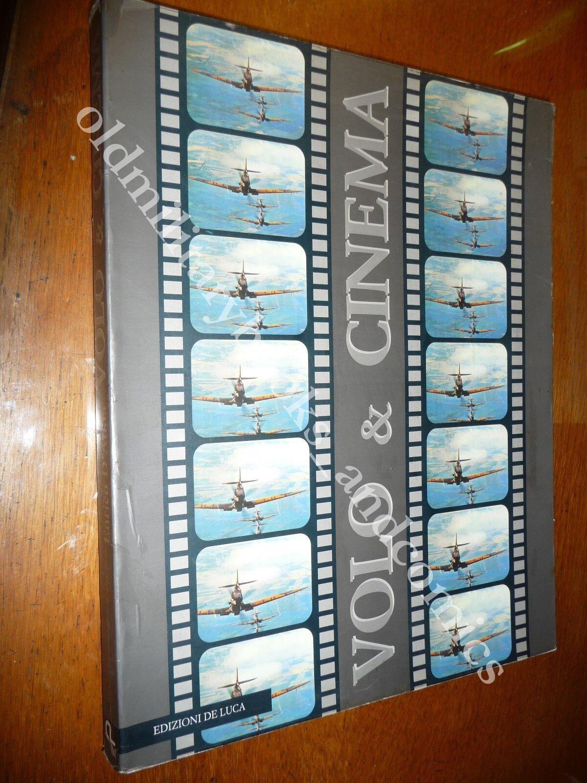 VOLO & CINEMA STORIA DEL CINEMA D'AVIAZIONE MANIFESTI CINEMATOGRAFICI FOTO AEREI
