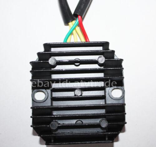 Spannungsregler Stromwandler Gleichrichter Shineray 400 ST-2 ATV Quad 3 Phase