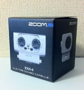 F-S-NEW-ZOOM-EXH-6-EXTERNAL-XLR-TRS-INPUT-for-ZOOM-H6-form-Japan