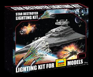 Zvezda-Revell-Star-Destroyer-1-2700-Lighting-Kit-UK-stock-Star-Wars-Model