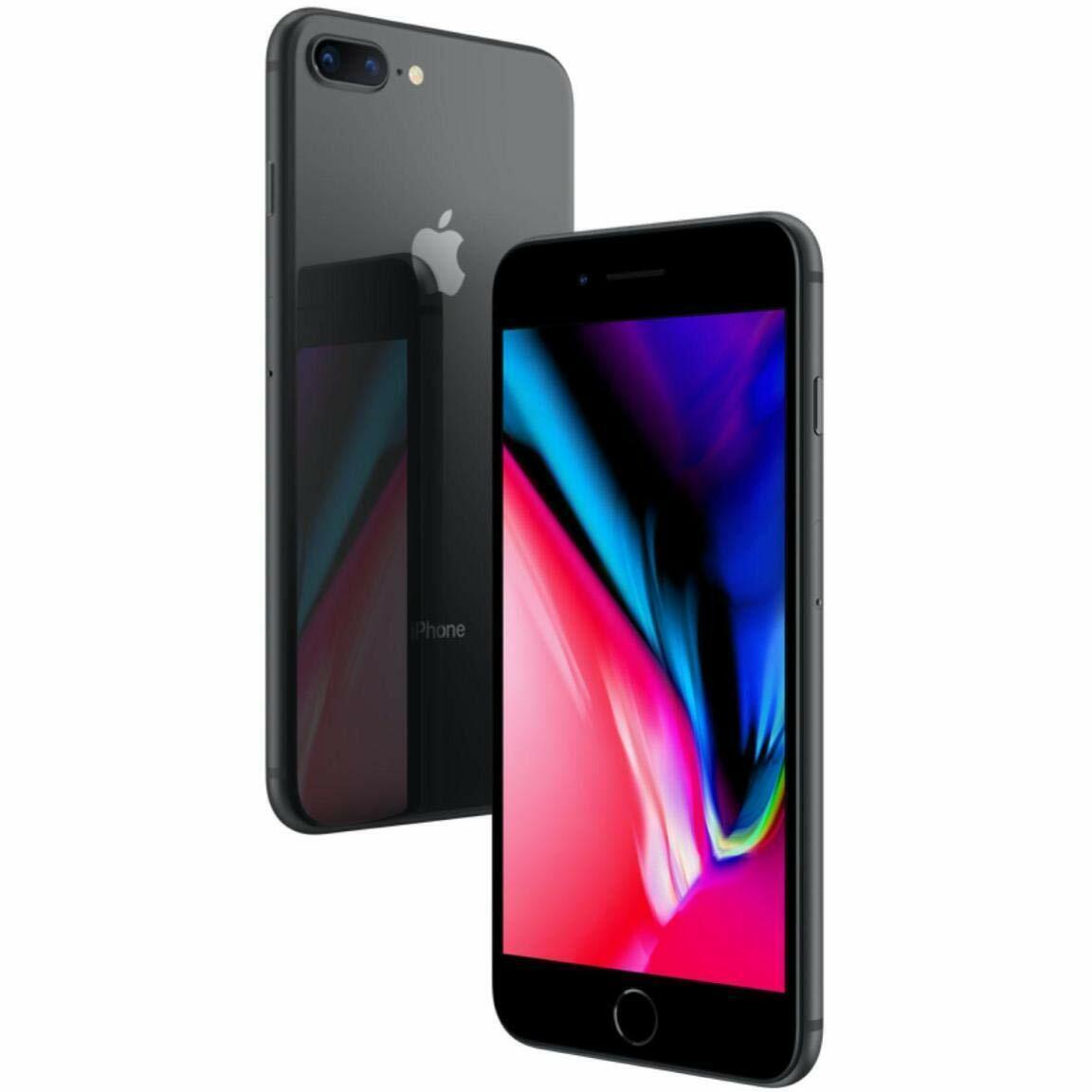 Apple iPhone 8 Plus 🍎 64GB Space Gray Verizon T-Mobile AT&T Unlocked Smartphone