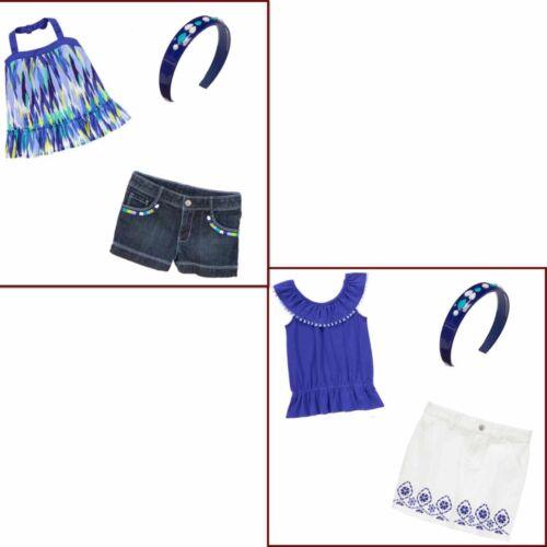 Gymboree Sparkle Safari 3 pc Sets-Top,Skirt,Shorts,Gem Headband 5 6 7 NWT