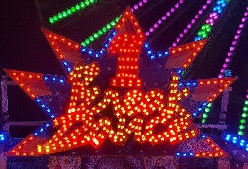 Enseigne lumineuse pour BREAK DANCE Faller 140440 140461 H0 Kirmes beleuchtung