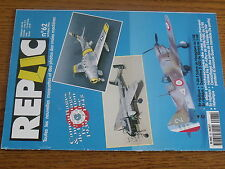 1µ?a Revue REPLIC maquettes n°62 Dewoitine D520 He 219 A-0  F-86 F Sabre