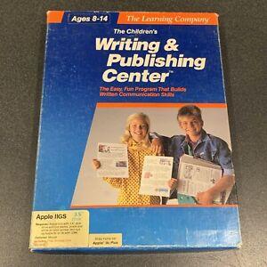 Learning-Company-Children-039-s-Writing-amp-Publishing-Apple-IIgs-2GS-IIc-2e-IIe-Boxed